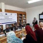 "In cooperation with Amal Coalition, PCHR Organizes Workshop on ""Gender Justice and Equality in Employment"""