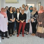 PCHR's Women Unit Organizes Farewell Ceremony for Head of Office of Kvinna till Kvinna Foundation in Jerusalem