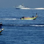 Israeli Naval Forces Destroy and Drown Palestinian Fishing Boat off Beir Lahia Shore