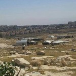 "In Light of Forced Displacement Policy in Area ""C"", Israeli Forces Issue military Orders to Evacuate Pope Mountain Bedouin Community, East of Occupied Jerusalem"