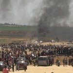 Despite Peaceful Nature of Demonstrations, Israeli Forces Continue to Use Lethal Force,Since Morning, 19 Palestinian civilians, Including 1 girl, 1 boy and 1 Person With Mobility Impairment, Were Killed while 1000 Others, Including 74 Children, 23 Women, 8 Journalists, and 11 Paramedics, Were Wounded