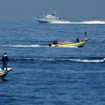 Continue to Chase Fishermen and Deprive them of practicing their job, Israeli Naval Forces Arrest 2 Fishermen and Detain Fishing Boat Sailing Within One Nautical Mile