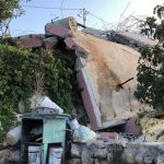As Part of Application of Collective Punishment Policy against Families of Those Carrying Stabbing Attacks, Israeli Forces Demolish Mohamed Dar Yousef's Family House in Kobar Village, North of Ramallah