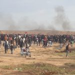 On 34th  Friday of the Great March of Return and Breaking Siege, Israeli Forces Wound 54 Civilians, including 11 Children, 1 Woman, and 4 Paramedics