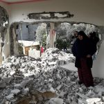 As part of Continuing to Apply Collective Punishment Policy against Families of Those Carrying Attacks against Soldiers and Settlers; Israeli Forces Demolish Na'alwah's House in Shuweikah Suburb, North of Tulkarm