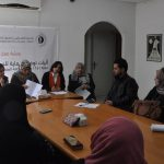 "As part of 16 Days of Activism Campaign to End Violence against Women and Girls, PCHR's Women's Unit  Organize Workshop Titled: "" Mechanisms of Providing Protection for Women Subject to Violence"""