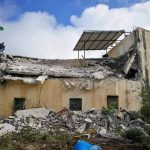 As Part of Applying Collective Punishment Policy against Families of those carrying out Attacks against Israeli Forces, Israeli Forces Demolish Family House of Saleh al-Barghouthi in Cooper Village, North of Ramallah