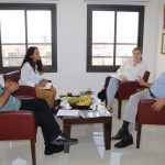 PCHR Receives Delegation from Consulate General of Belgium in Jerusalem