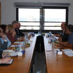 PCHR Receives a Delegation from the Irish Ministry of Foreign Affairs
