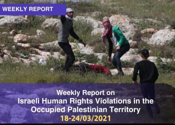 Israeli Human Rights Violations in the Occupied Palestinian Territory 18 – 24 March 2021
